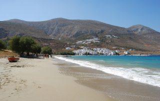 Aegiali Beach Amorgos Greece