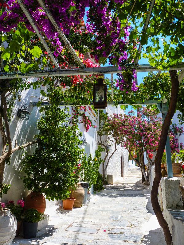 Alley on Amorgos