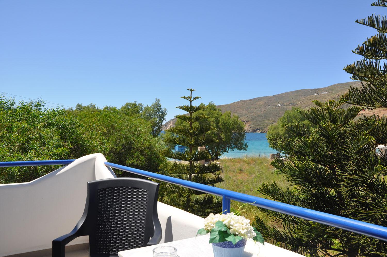 Fanis Studios and Rooms Amorgos Balcony
