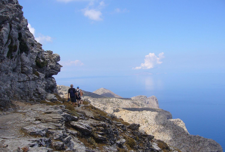 Walking on Amorgos