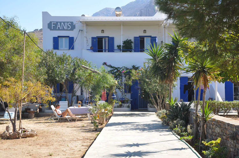 Fanis Accommodation Amorgos