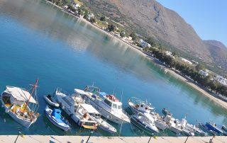 Port of Aegiali Amorgos