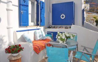 Fanis Rooms and Studios Amorgos Veranda
